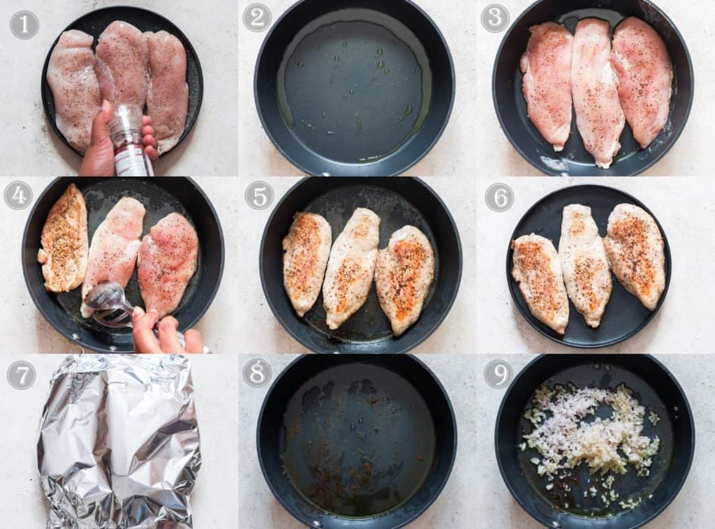 step by step pictorial of creamy chipotle chicken recipe