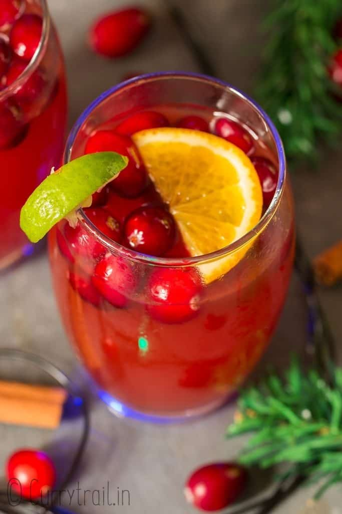 easy to make holiday punch recipe