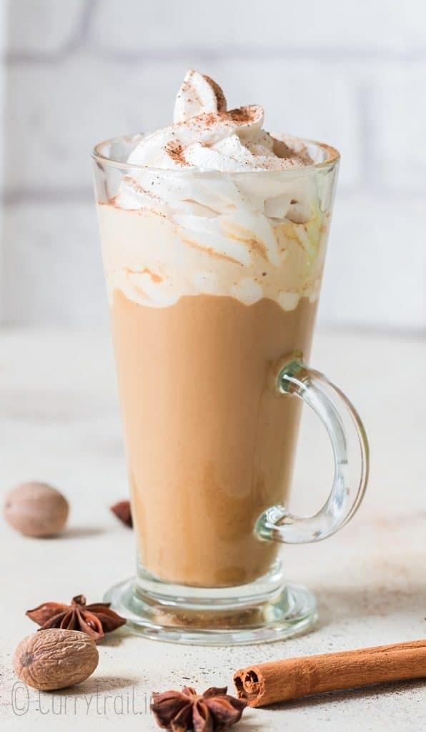 tall cup pf pumpkin spice latte