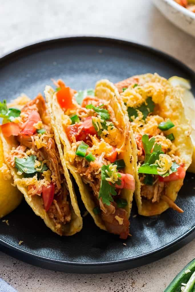 instant pot shredded chicken used in tacos
