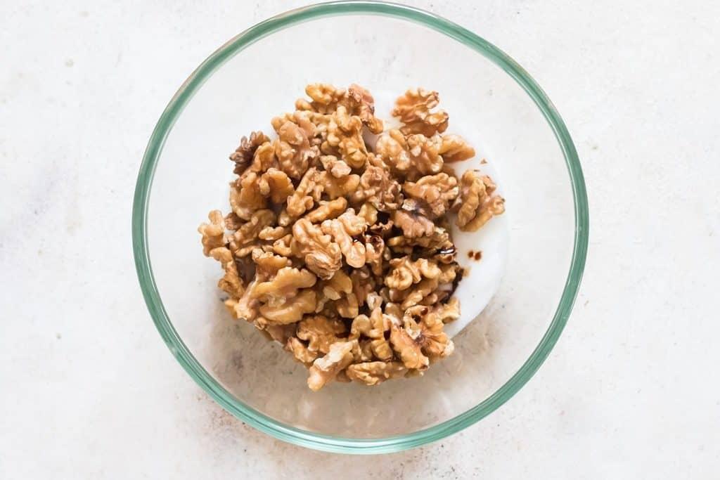 coating walnuts in egg white