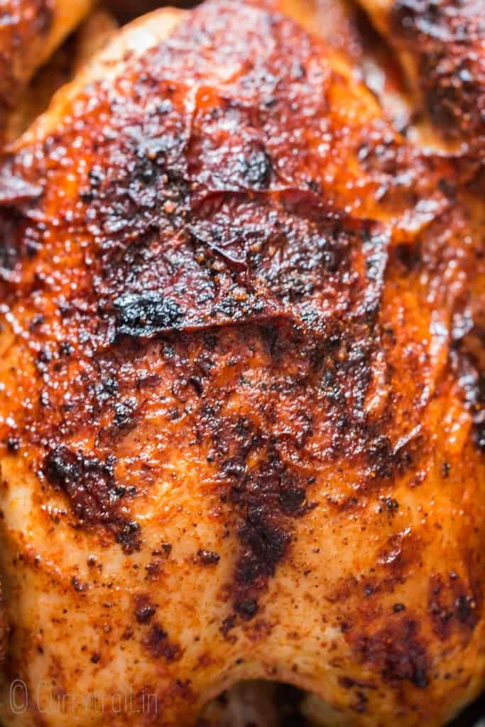 juicy roasted brined chicken