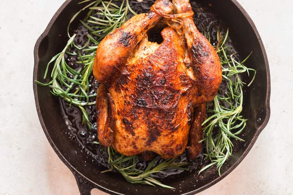 roasted brined chicken