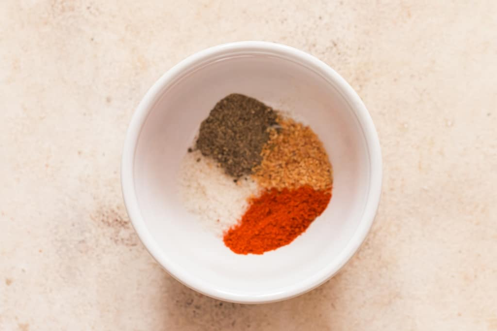 spice mix for using on cauliflower steaks