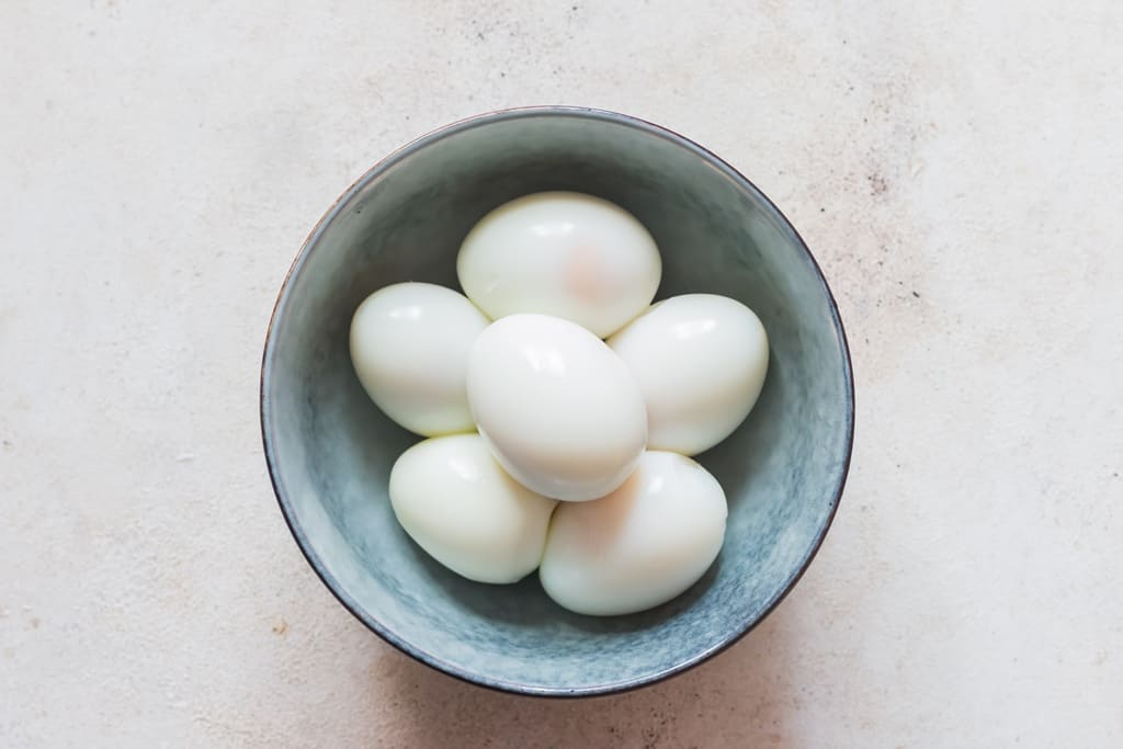 hard boiled eggs to make egg salad