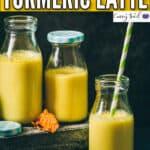 golden milk in 3 bottles with text