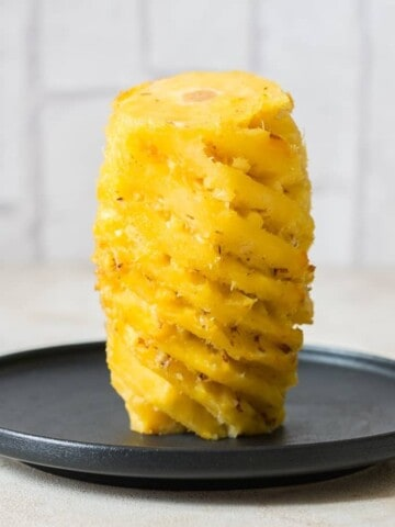 pineapple skin removed and ready to use