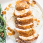 instant pot chicken breasts on mashed potatoes