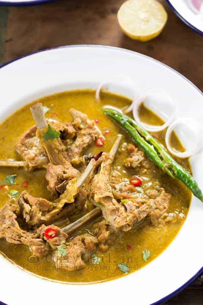 Karnataka moms mutton chops curry