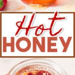 hot honey recipe infused with fresno hot peppers