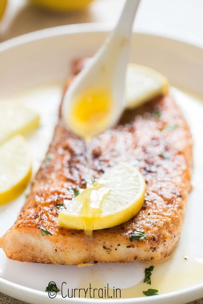 pan fried fish with lemon butter sauce